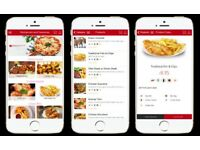 MOBILE APPS FOR TAKEAWAYS & RESTAURANTS, TAKEAWAY & RESTAURANT IPHONE ANDROID APP DEVELOPER DESIGNER