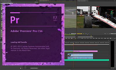 Adobe Premiere Pro CS6 Family - Full Version For Windows 64 Bit
