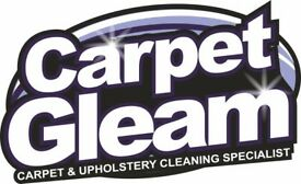 CARPET GLEAM, CARPET & UPHOLSTERY CLEANERS