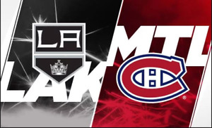 Canadiens home Opener OCT 11TH 2018