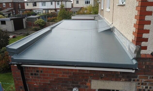 Grp Cure It Fibreglass Flat Roofing In Knightswood
