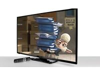 50 Inch LED Smart TV - Broken