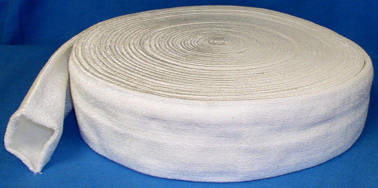 "ROLLER COVER FOR DAMPENING ROLLERS 3"" DIA. WHITE SYNTHETIC SHRINK 25 METERS"