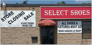 Shoe Store Closing. All Shoes/Store fixture must go! FINAL WEEK!