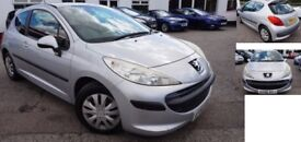 2006 (56 Reg) Peugeot 207, 1.4Hdi, 3dr, Silver **£30 Tax P/Year!** **Low Cost Insurance!**