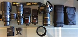 Nikon Professional DSLR Package for sale