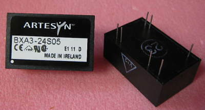 Bxa3-24s05 Artesyn Isolated Dcdc Converter 24 Vdc In 5 Vdc Out New 1 Each