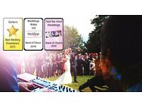 Professional Wedding Band and Disco Service - Entertainment for all parts of the day!