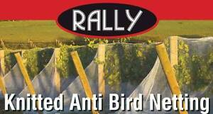 ON SALE - WHITE KNITTED ANTI BIRD NETTING  - 5m wide or 10m wide! Caloundra West Caloundra Area Preview