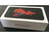 iPhone 6S 128Gb Space Grey O2 BRAND NEW SEALED