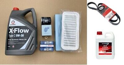 Major Service Kit by OWNERS CLUB | Citroen C1, Peugeot 107, Toyota Aygo 1.0 05-