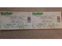 Bruno Mars 24K Magic concert tickets Sheffield arena, 6th may