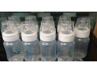 Avent Bottles x 9