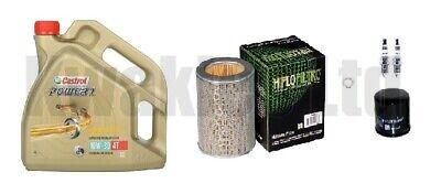 Honda CBF500 2004-2008 Service Kit Filters Iridium Spark Plugs & Castrol Oil