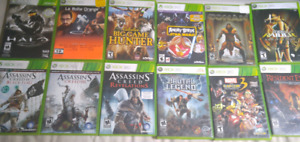 Assorted Xbox 360 games - $5 each!