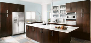 **SOLID WOOD KITCHEN CABINETS AT LOWEST PRICE**
