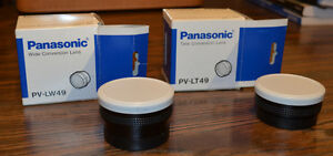 Panasonic WIDE- and TELE-Converter Leses: New In Box