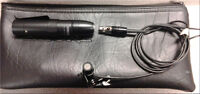 Shure MX184 Supercardioid Wired Lavalier Microphone new