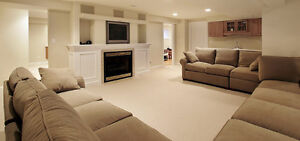 Basement apartments designed and built 38 years quality service