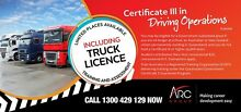 Cert 3 Driving Operations - Government Funded Mackay 4740 Mackay City Preview