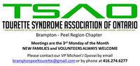 Brampton-Peel Chapter - Tourette Syndrome Association of Ontario