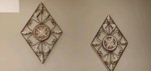 Hanging wall decor - 2 pieces