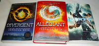 Divergent Trilogy, all in very good condition.