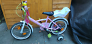 Btwin liloo princess kids / toddler  bike