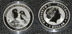 Pièce en argent/silver bullion Kookaburra 2013 1 Ounce