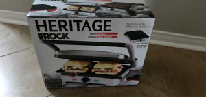 Heritage the rock panini grill *BRAND NEW*