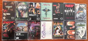 Various Hard Rock Heavy Metal Glam Music Releases