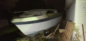 28 foot cabin cruiser boat FREE just remove from property