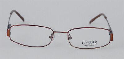 GUESS GU 1480 Brille Brillengestell Braun Metall Damen Herren Händler NEU (Herren Guess Brillengestelle)