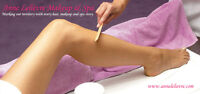Professional waxing in the comfort of your own home