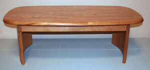 Excellent 3 Piece Oak Coffee & Side Table Set  SEE VIDEO Kitchener / Waterloo Kitchener Area image 2