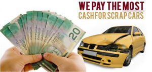 Wanted: SCRAP CARS REMOVAL | WE PAY TOP CASH FOR SCRAP CARS