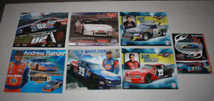 7 X NASCAR / CASCAR Canadian Tire Series, Large Cards from 2007