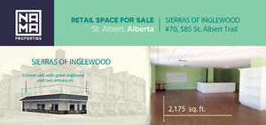 Prime Office/Retail Space for Sale #70 - 585 St. Albert Trail