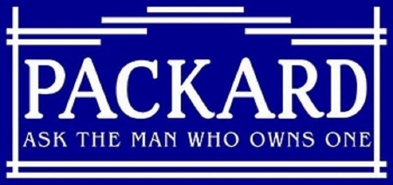 "Packard Ask the Man Heavy Metal Sign Cabin Home Den Garage Shop Farm Decor 30"""