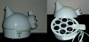 Henrietta the Hen egg cooker with Poacher .. As shown Cambridge Kitchener Area image 3