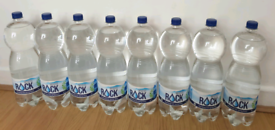 2L WATER BOTTLES X8 BRAND NEW UNOPENED