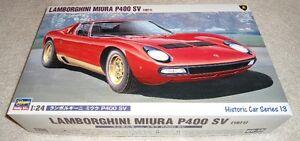 Hasegawa 1/24 Lamborghini Miura P400SV