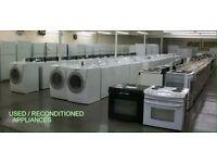 Washing machine , fridge freezer ,condenser dryers , cookers