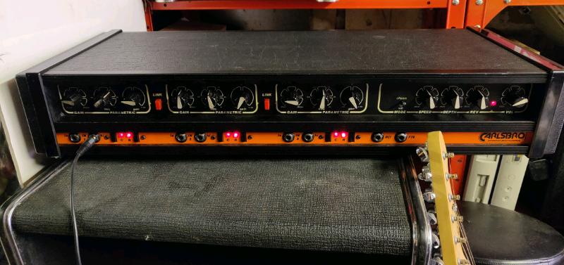 Carlsbro stingray multichorus amp and speaker for sale  Stockport, Manchester