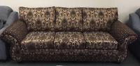 New Beautiful 3 Piece Sofa Set Made In Canada
