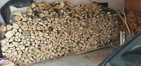 2 Truck Loads of Dry Spruce & Maple Mix Firewood Approx