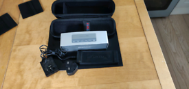 Bose sound link mini with carrying case