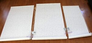 3 - Roller Shades by Blind To Go  - $20.00 each