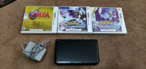 Nintendo 3DS and 3 games