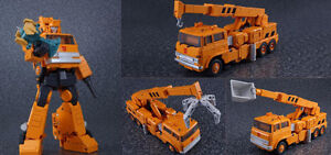 Masterpiece Transformers MP-35 Grapple Action Figure in store!